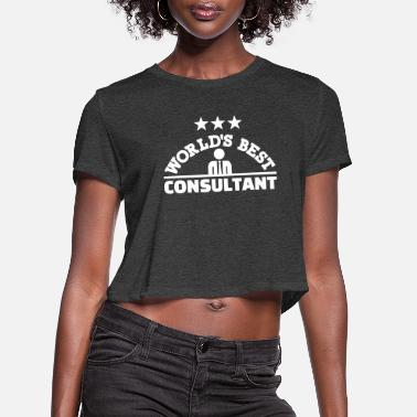 Consultation Consultant - Women's Cropped T-Shirt