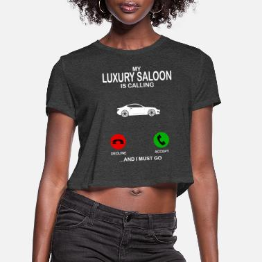 Luxury luxury saloon - Women's Cropped T-Shirt