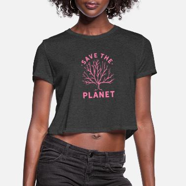 Climate Change Climate Change - Women's Cropped T-Shirt