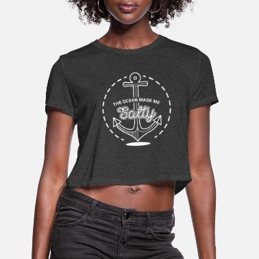 Anchor Captain - Women's Cropped T-Shirt