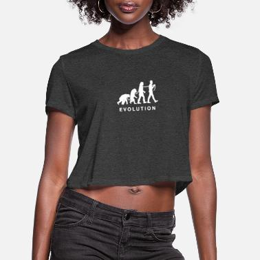 Slavery Evolution of slavery - Women's Cropped T-Shirt