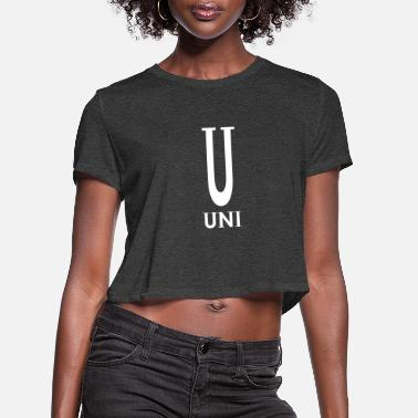 Uni Uni - Women's Cropped T-Shirt