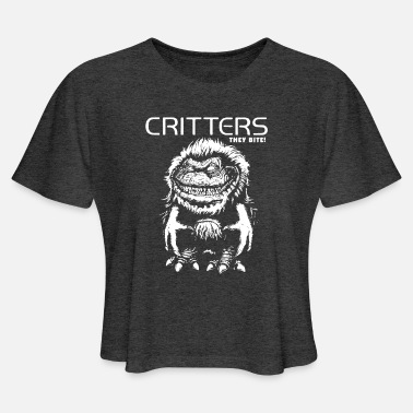 Critters Critters - Women's Cropped T-Shirt