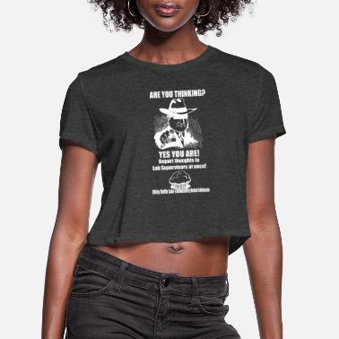 Prohibited Thinking is Prohibited - Women's Cropped T-Shirt