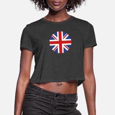 United Kingdom - Women's Cropped T-Shirt