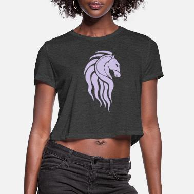 Horselords - Women's Cropped T-Shirt
