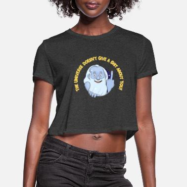 Existentialism TUDGASAY - Women's Cropped T-Shirt