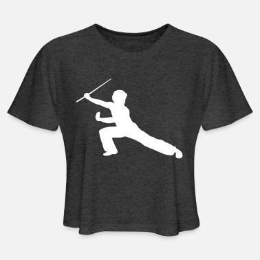 Shaolin, Wushu, Kung Fu, Martial Arts Women's Organic T-Shirt - black