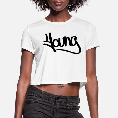 Young young - Women's Cropped T-Shirt