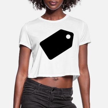 Tag tag - Women's Cropped T-Shirt