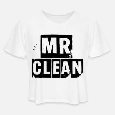 Mr. Clean mr clean - Women's Cropped T-Shirt