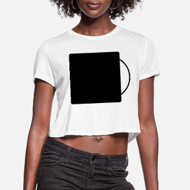 Record record - Women's Cropped T-Shirt