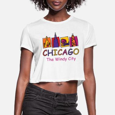 Windy City The-Windy-City-Kids - Women's Cropped T-Shirt
