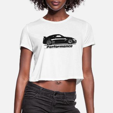 Performance GTR R35 ae performance - Women's Cropped T-Shirt