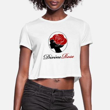 Divine Rose - Women's Cropped T-Shirt