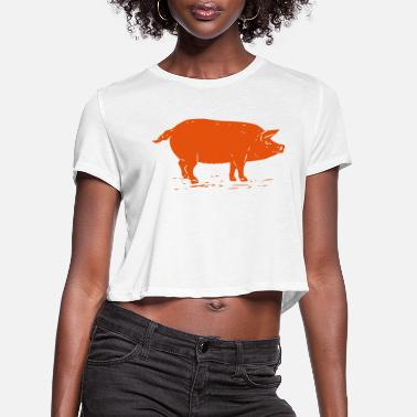 Sow Sow - Women's Cropped T-Shirt