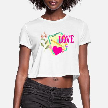 Cheeesed Off Love - Women's Cropped T-Shirt