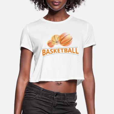 Basket basket - Women's Cropped T-Shirt