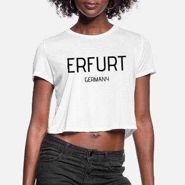 Erfurt Erfurt - Women's Cropped T-Shirt