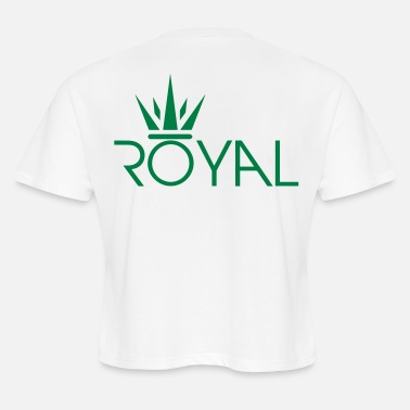 Royal Crown Secondary Svg - Women's Cropped T-Shirt
