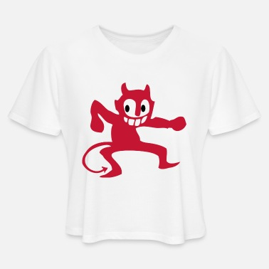 Devil Male devil - Women's Cropped T-Shirt