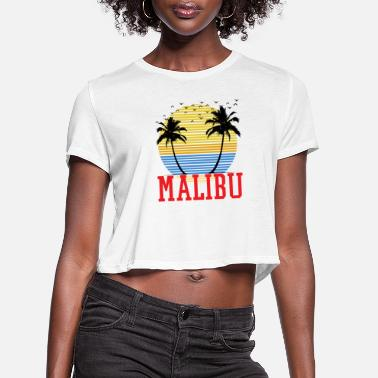 Malibu Malibu - Women's Cropped T-Shirt