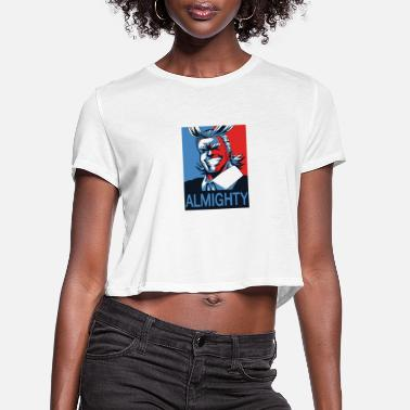 Hero ALL MIGHT - Women's Cropped T-Shirt