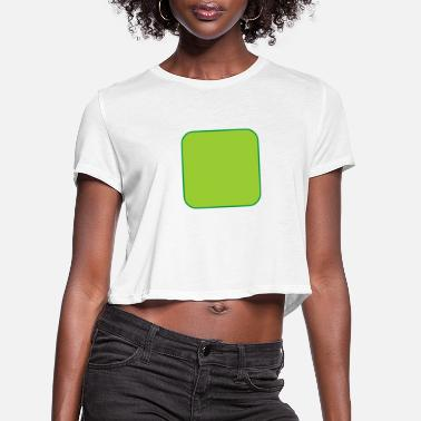 Quadrat Quadrat - Women's Cropped T-Shirt