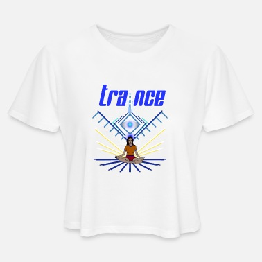 Los-ds Trance - Women's Cropped T-Shirt