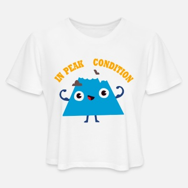 Peak Peak Condition - Women's Cropped T-Shirt