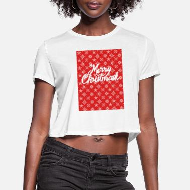 Glamour Xmas 2020 - Women's Cropped T-Shirt