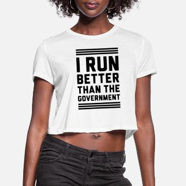 Government Governement - Women's Cropped T-Shirt