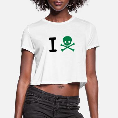 Irony I hate - Women's Cropped T-Shirt