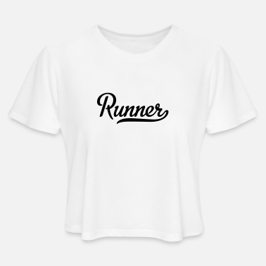 Runner Stuff runner - Women's Cropped T-Shirt