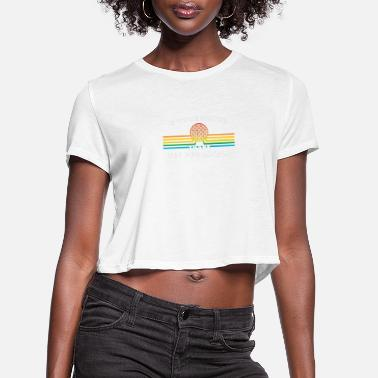 Spaceship Thank the Phoenicians - Women's Cropped T-Shirt