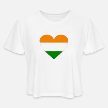 India india - Women's Cropped T-Shirt