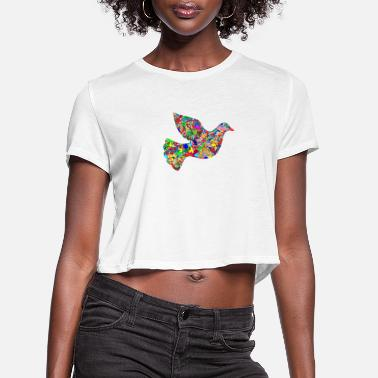Branch dove108 - Women's Cropped T-Shirt