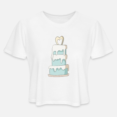 Wedding Cake Wedding Cake - Women's Cropped T-Shirt