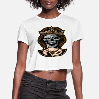 Evil Halloween - Women's Cropped T-Shirt