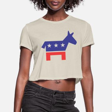 Democratic Party Democratic Party - Women's Cropped T-Shirt