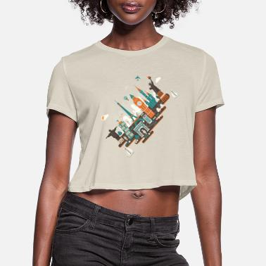 A Series Of Works Everywhere I Will A series of works everywhere I will - Women's Cropped T-Shirt