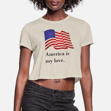 The British Empire Independence Day - Women's Cropped T-Shirt