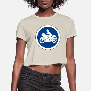 Traffic Sign Traffic sign - Women's Cropped T-Shirt