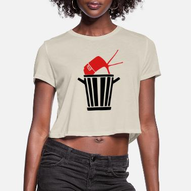 Television television - Women's Cropped T-Shirt
