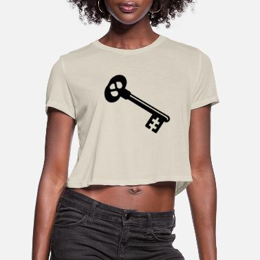 Key key - Women's Cropped T-Shirt