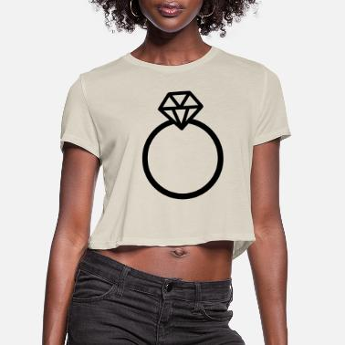 Marriage marriage - Women's Cropped T-Shirt