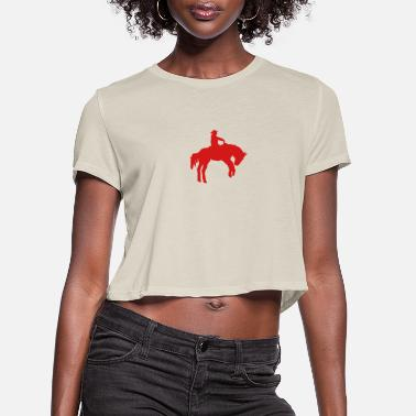 Western Horse western horse - Women's Cropped T-Shirt