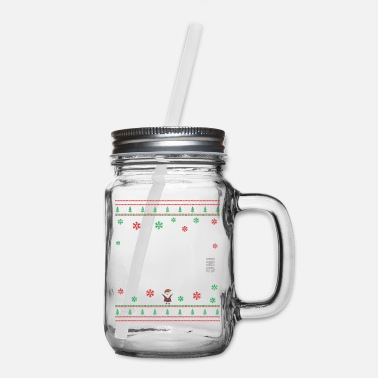 Ugly The Office Christmas Ugly Sweater - Dunder Mifflin - Mason Jar