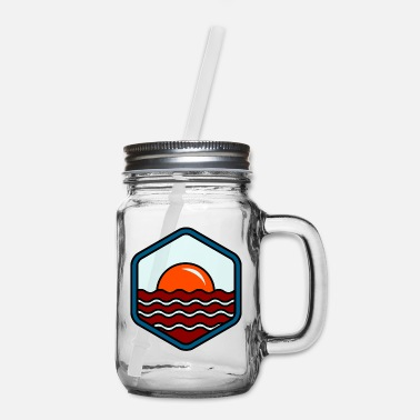 Shore BREAKFAST IN SHORE - Mason Jar