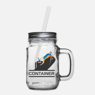 Container Container Ship - Mason Jar